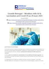 2021 04 06   grande bretagne  resultats reels de la vaccination