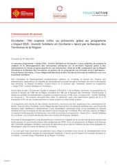 communique de pressela region occitanie et la banque des territo
