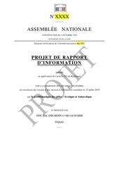 projet rapport dinformation problematique des poles