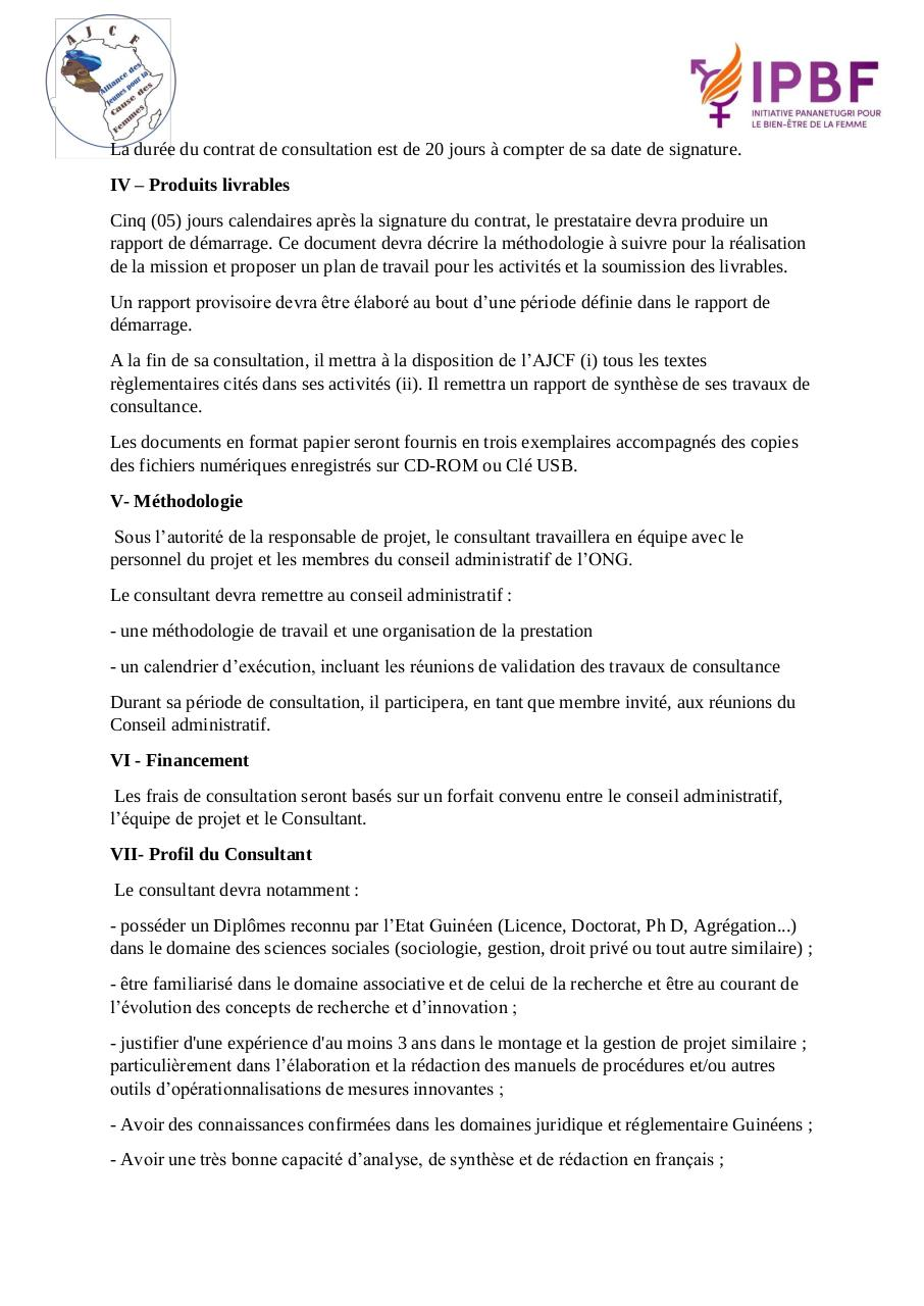 Aperçu du document TDR-Recutement-de-Consultant-AJCF-Guinée.pdf - page 2/3