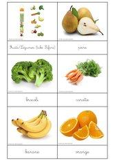 nomenclatures des fruits et legumes tube safari
