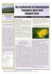 un ardennais en bourgogne journal mensuel avril 2021