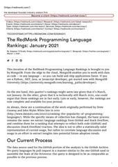 lcaclassement langages