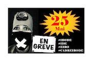 affiche greve 25 mai 2021
