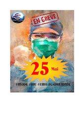 affiche greve 25 mai