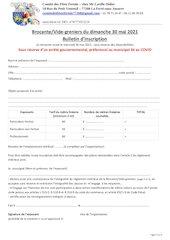 bulletin dinscription brocante du 30052021