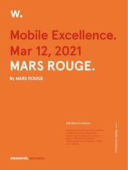 agence web mulhouse alsace reponsive mars rouge certificat awwwa