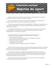 preparation physique   p00002   reprise du sport
