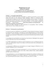 agri ethique   jeu wonderbox   insta et fb   reglement   21 mai