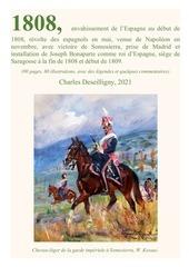 1808 debut de la guerre despagne victoire de somosierra prise de