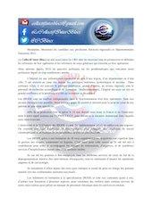 courrier candidats elections regionales et departementales 2021