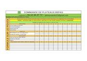 commande plateaux and co tarif 2021