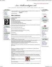 cardinal quantitatif en 2007 titre original mes cardinaux p1