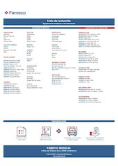 fameco medical wanted list cl fr