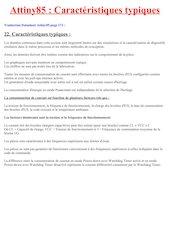 attiny85 caracteristiques typiques datasheet francais