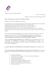 preavis de greve du 29 juilet  section sud hopital edouard herri