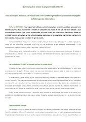 la confederation el4dev   communique 1