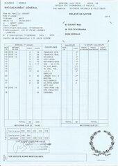 malo douart   releves de notes bac et diplome 1