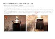 magneto renovation   remagnetisation de magneto rb n10 4