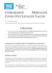comparaisonmortalitecovidletalitevaccinmodifmonde22juin21