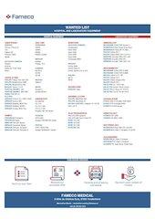 fameco medical wanted list mm en