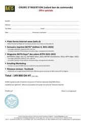 offre speciale 149 batis 2021