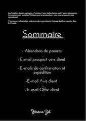 template e mail