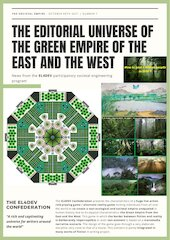 the editorial universe of the green empire of the east and the w