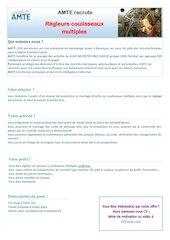 offre regleurs coulisseaux 21pub